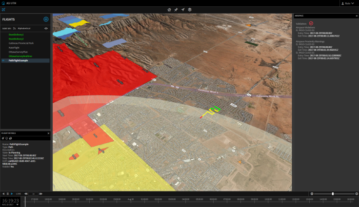 UTM_AirspaceViolation_Proximity_PathFlight